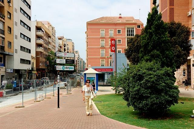 На улицах Малаги