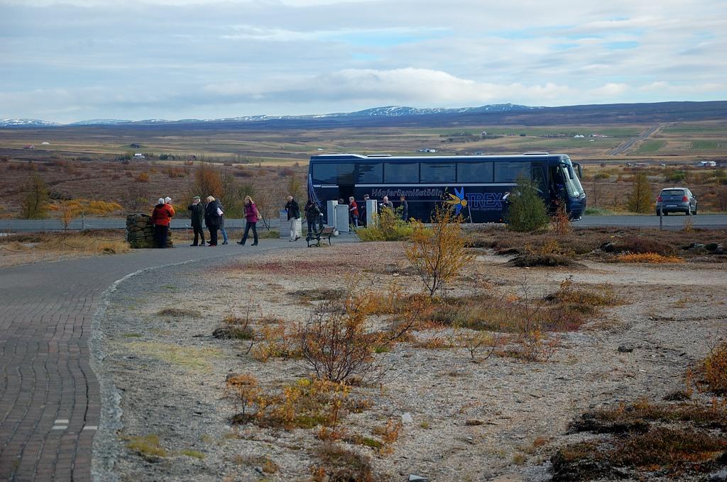 Пакетники приехали на автобусе :)