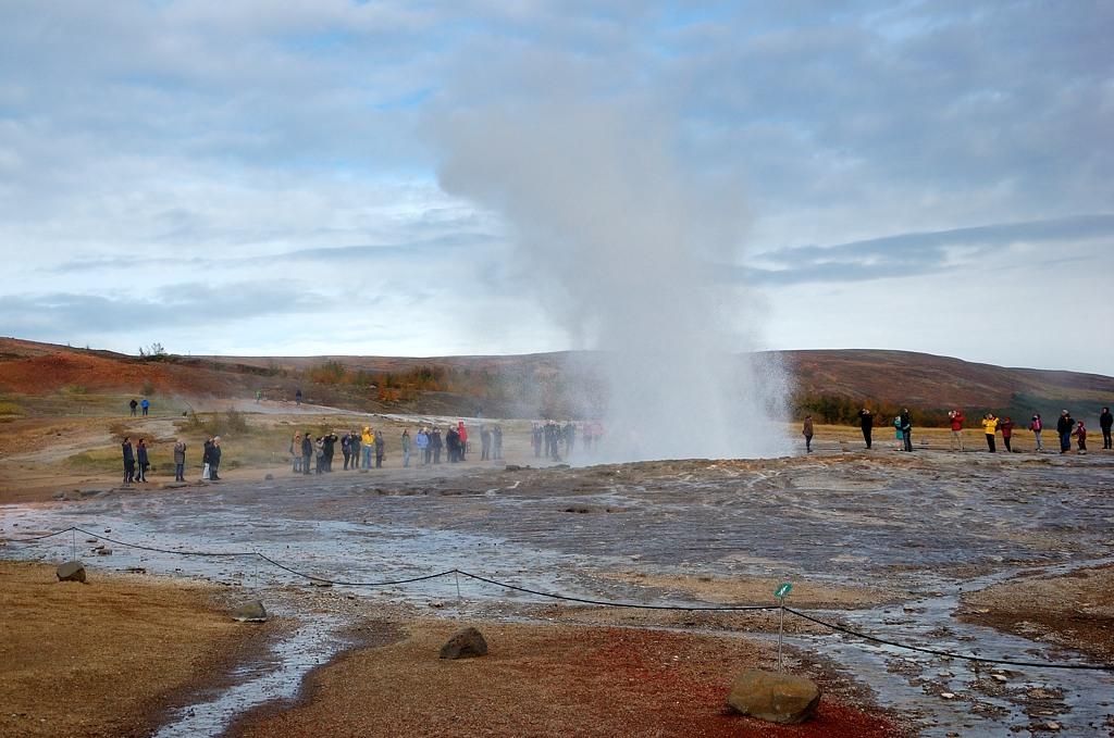 Извержение Строккура