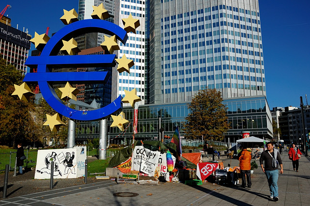Знаменитый знак евро