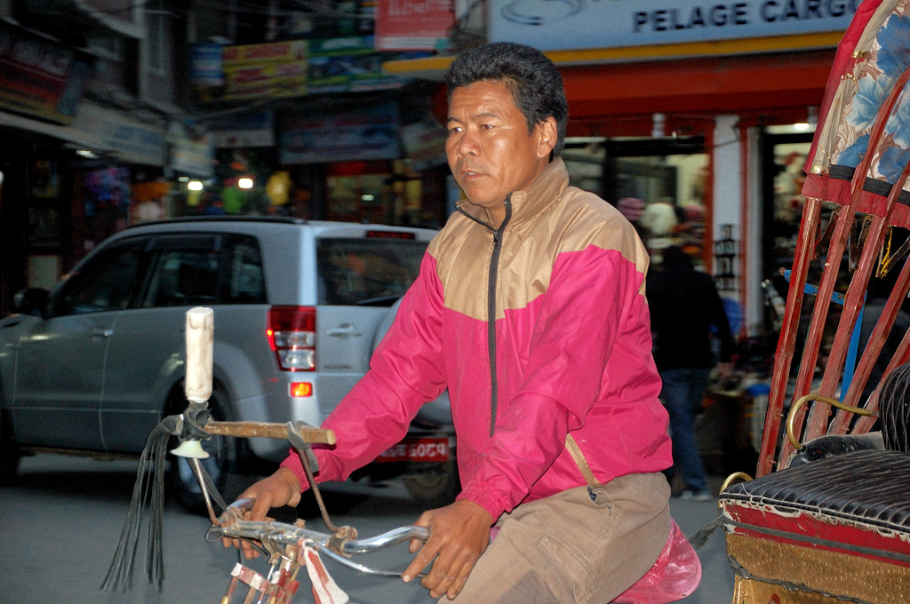 Местный велорикша