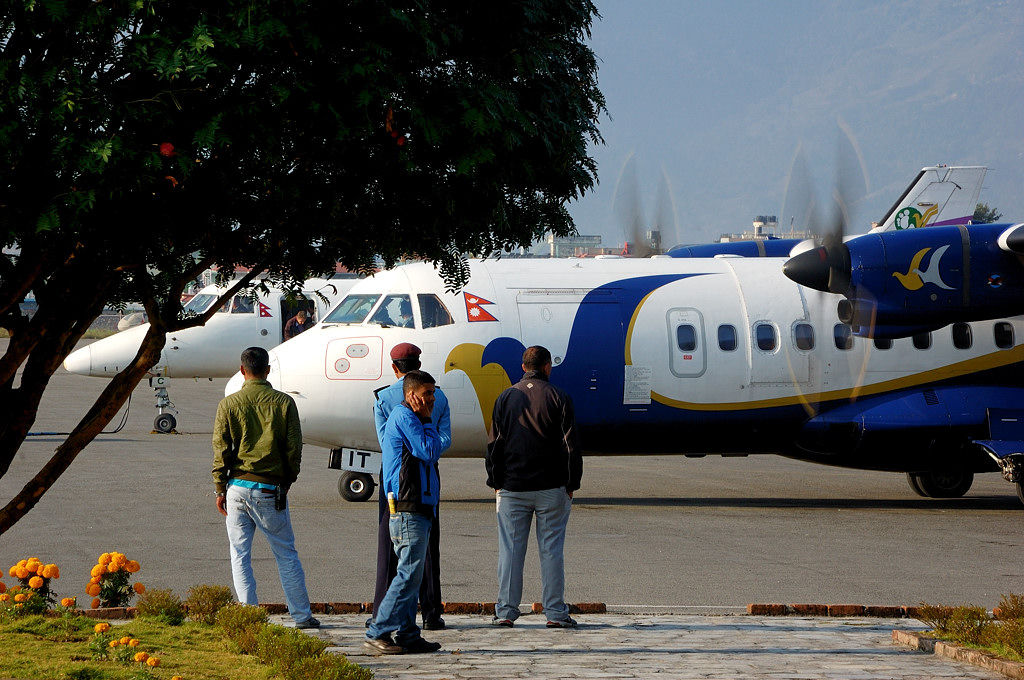 Самолет Buddha Air, не наш