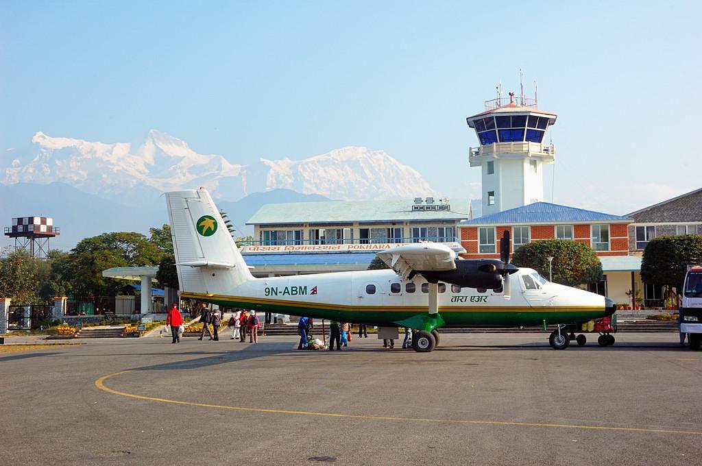 Здание аэропорта Покхары