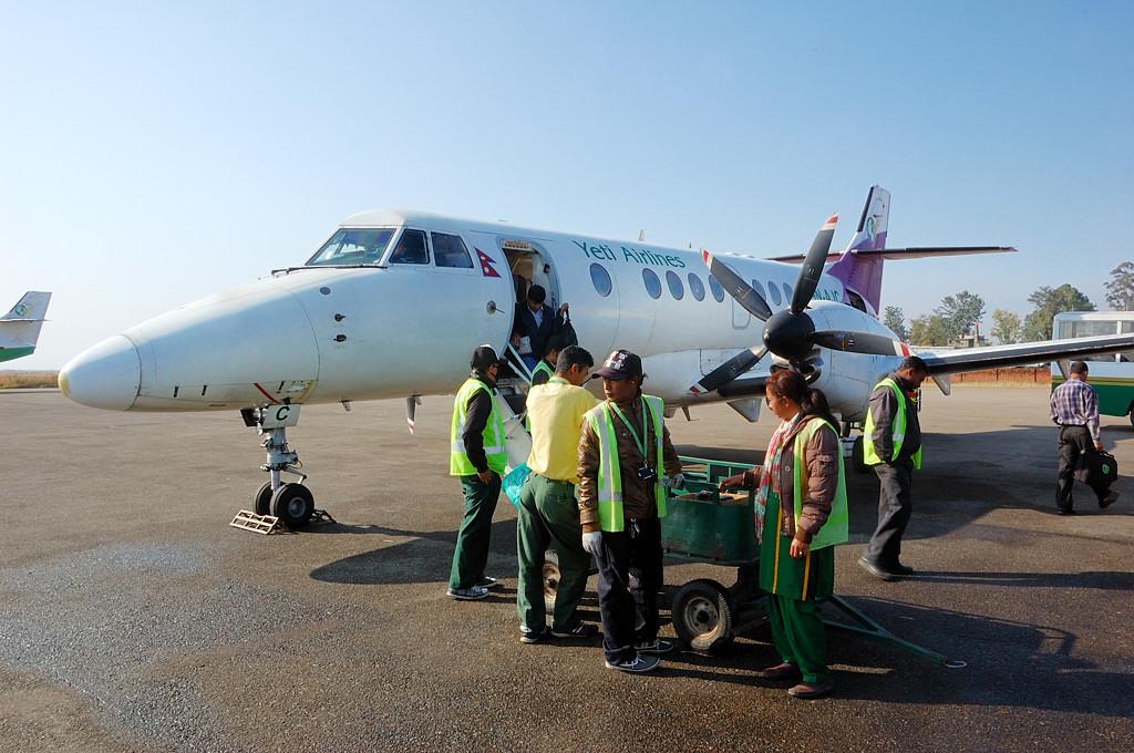 А это мы уже прилетели в Катманду
