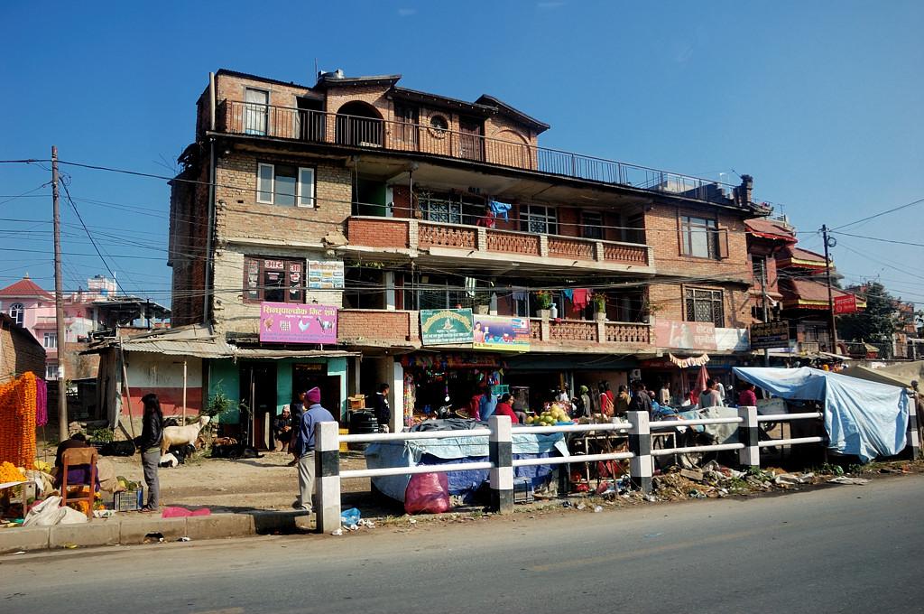 Едем в Бхактапур