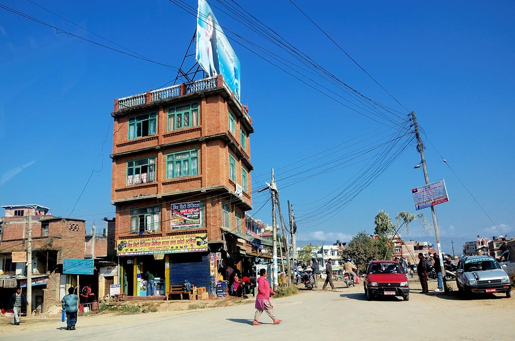 Непальский городской пейзаж