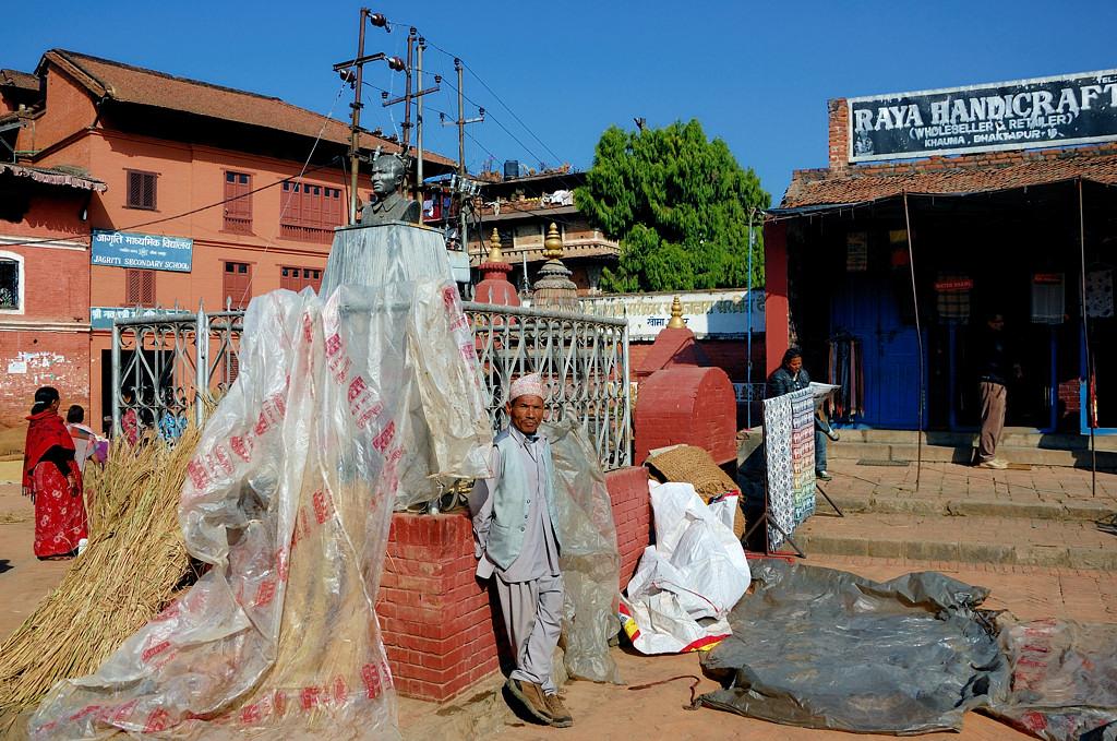 Приехали в Бхактапур