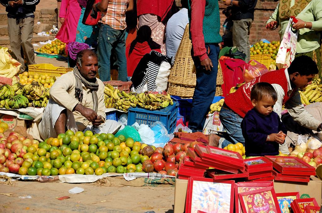 Рынок на центральной площади