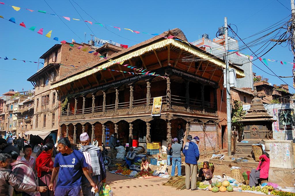 Торговля в старом городе
