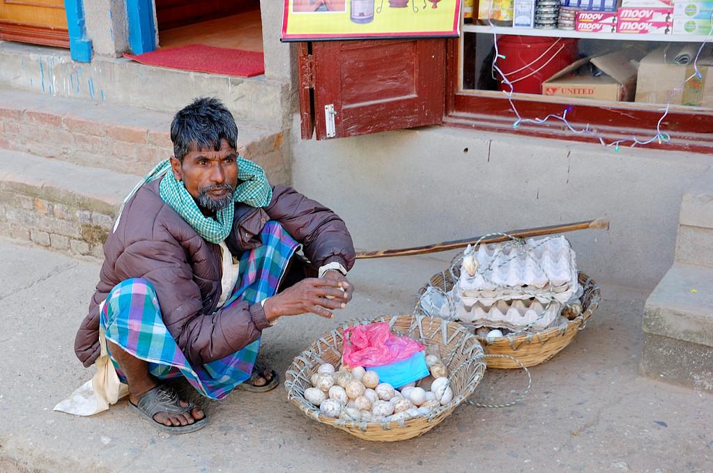 Торговец яйцами