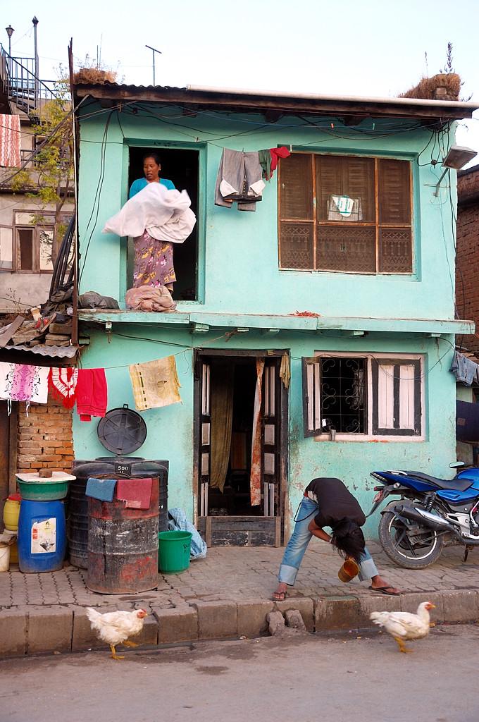 Обычный непальский дом
