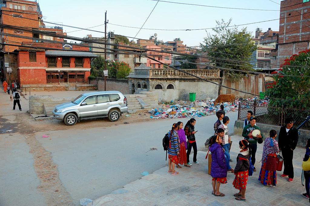 Катманду очень чистый город (как казалось поначалу :))