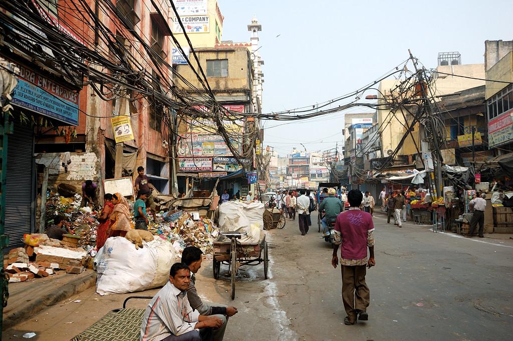 В старом городе Дели