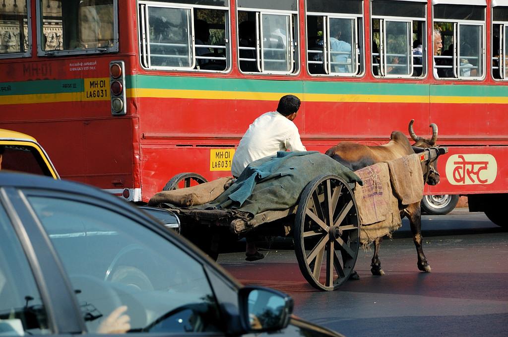 Такой транспорт тоже встречается