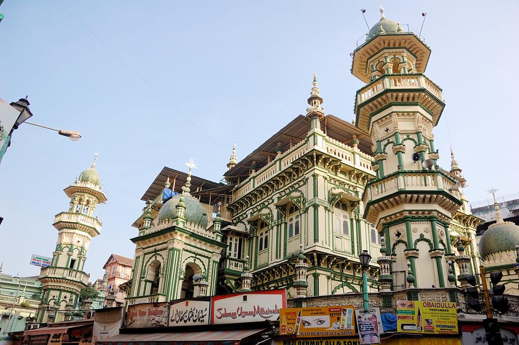 Мечеть в мусульманском квартале