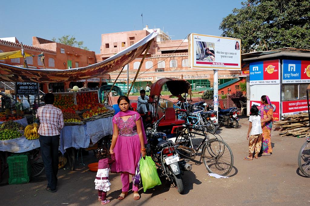 Жители Джайпура