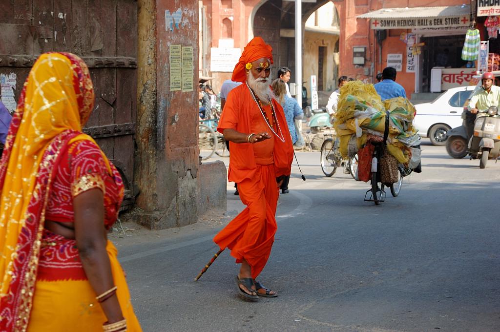 Оранжевый дед