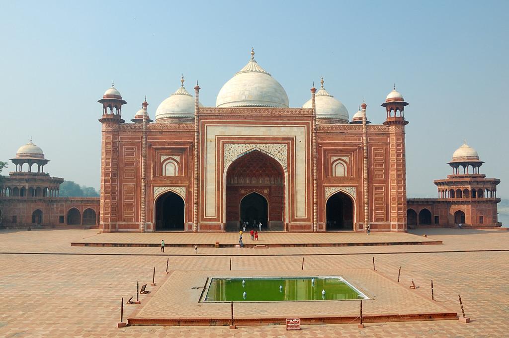 Мечеть в Тадж-Махале