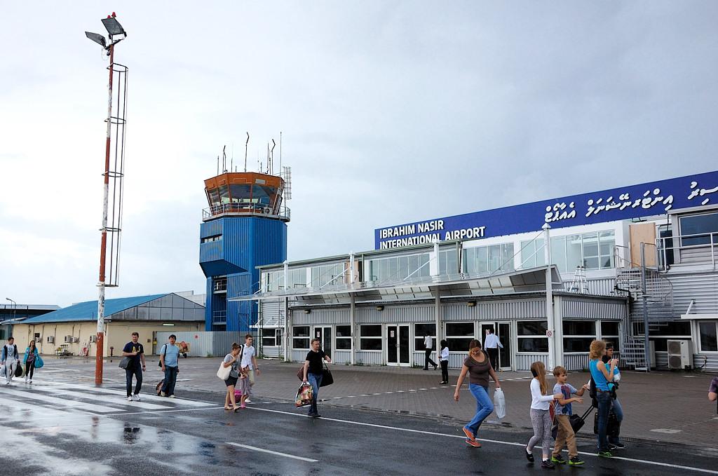 В аэропорту Мале