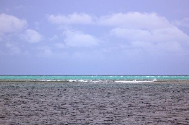 Буруны над рифами