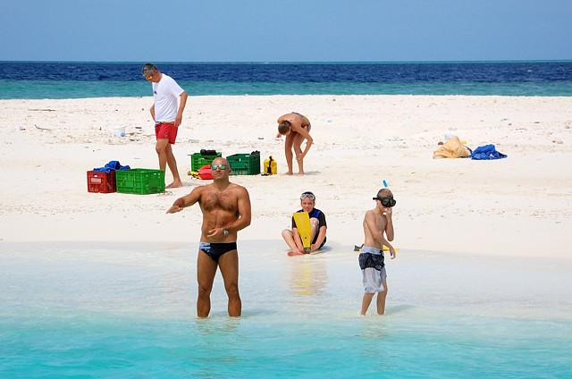 На Песчаном острове
