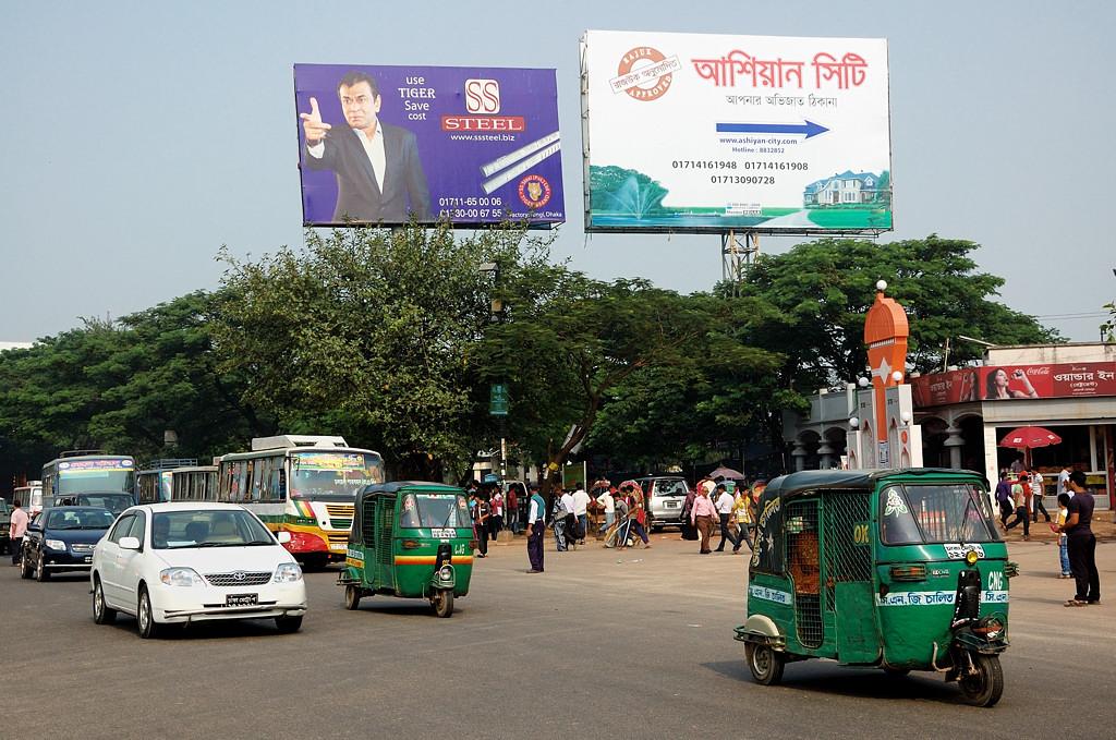 Шоссе в Дакке