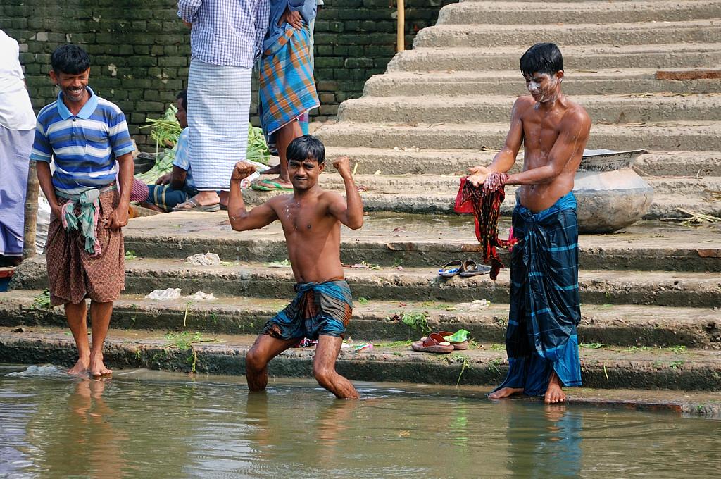 Бангладешцы очень дружелюбны