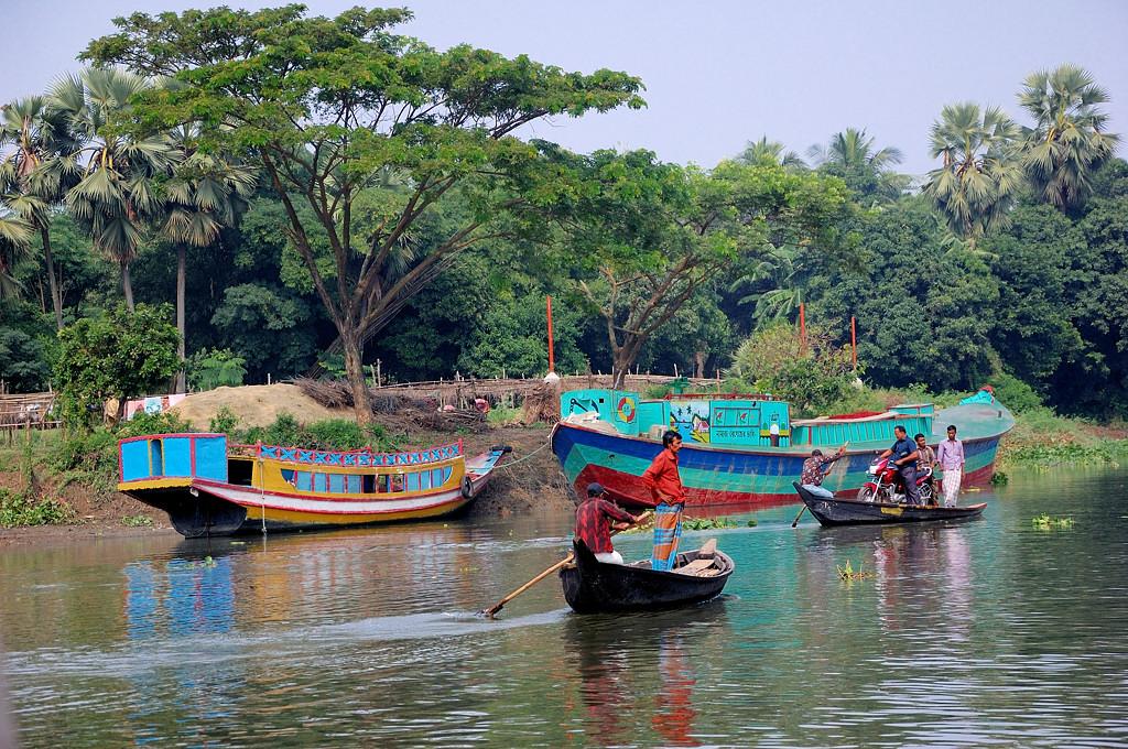 Бангладешские транспортные схемы