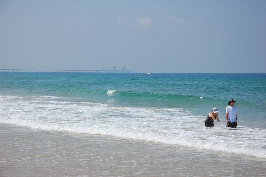 На пляже в Ашкелоне