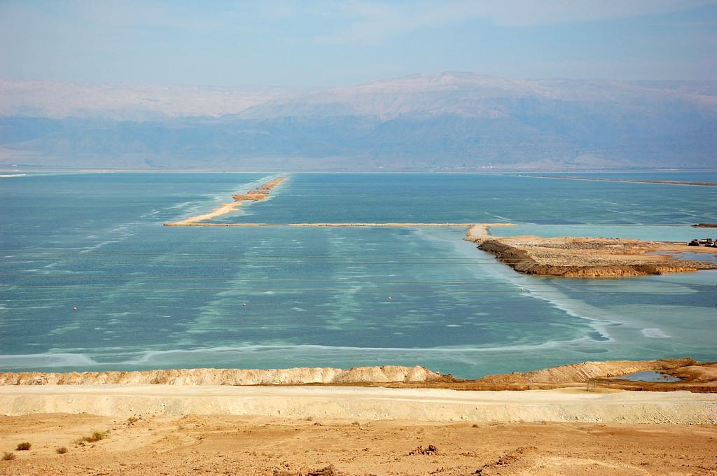 Южная часть Мертвого моря