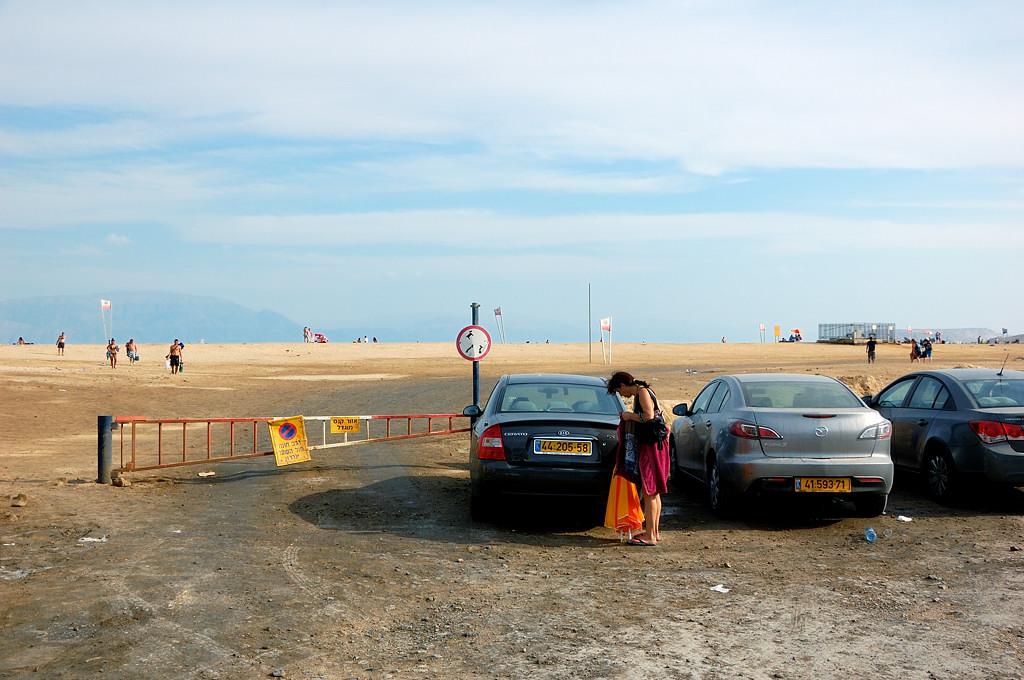 Стоянка у пляжа