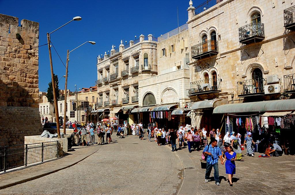 В старом городе у Яффских ворот