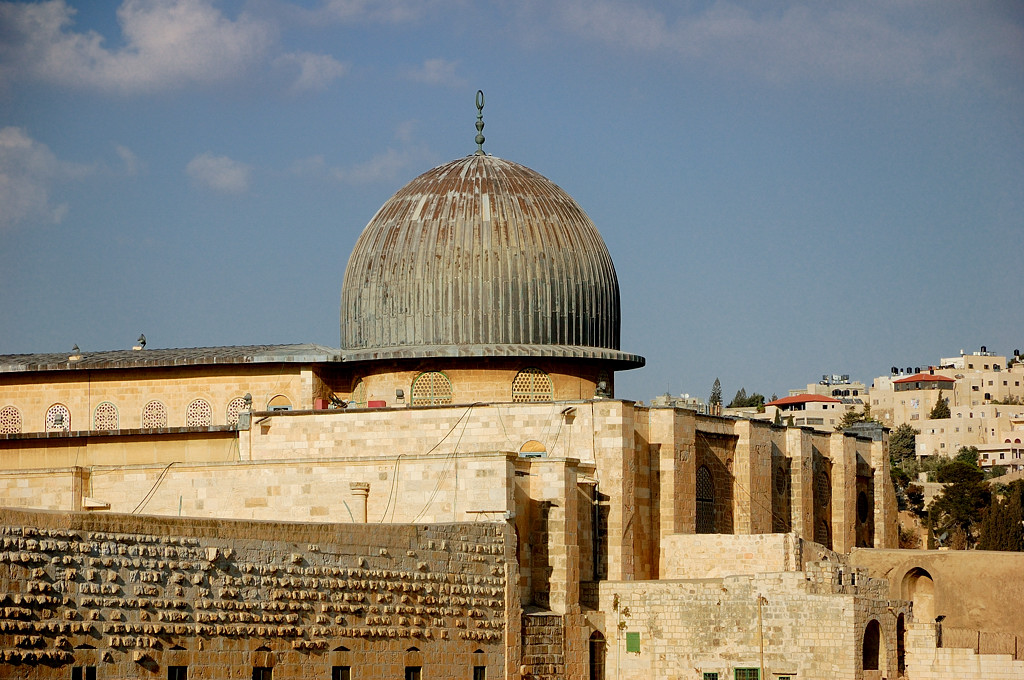 Купол мечети Аль-Акса