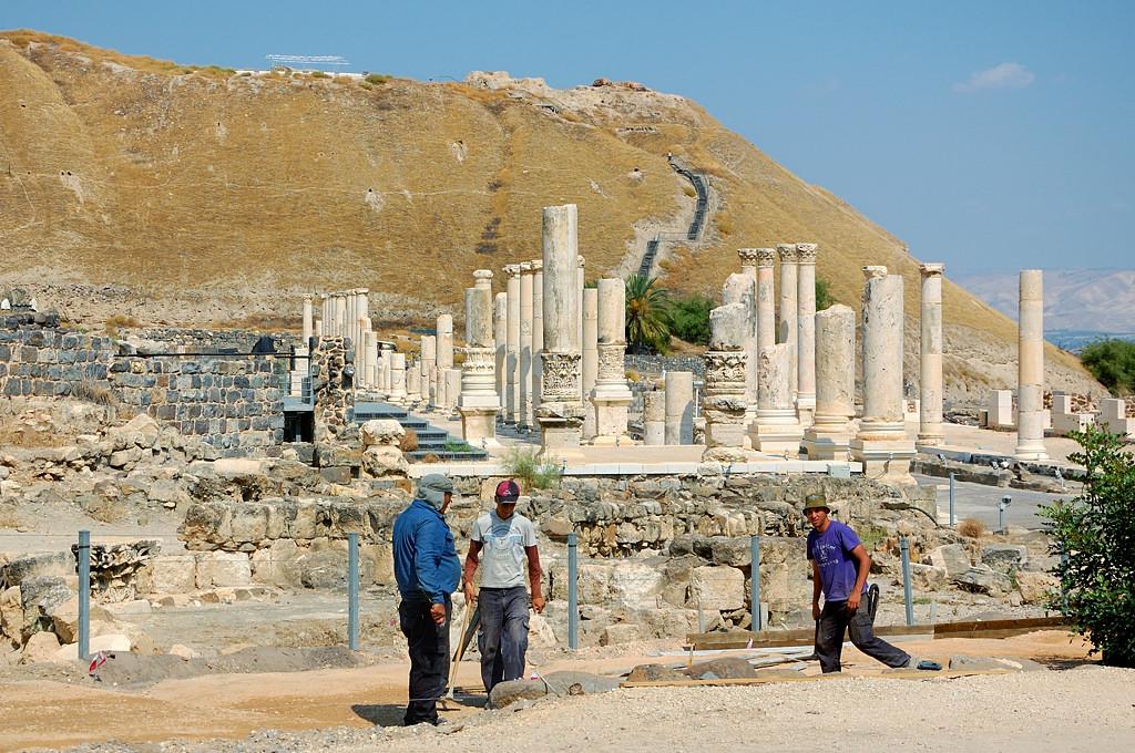 Бейт-Шеан. Римский город Скифополис
