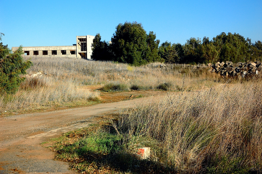 Развалины сирийского командного пункта