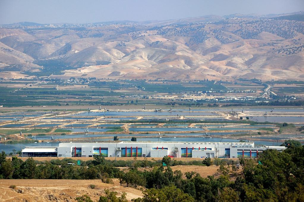 Вид с горы в сторону Иордана
