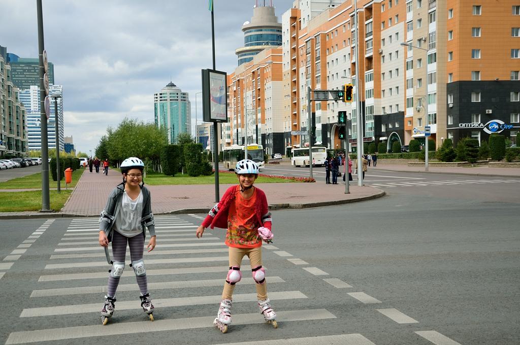 Проспект Орынбор (бывшая столица Казахстана - Оренбург :))