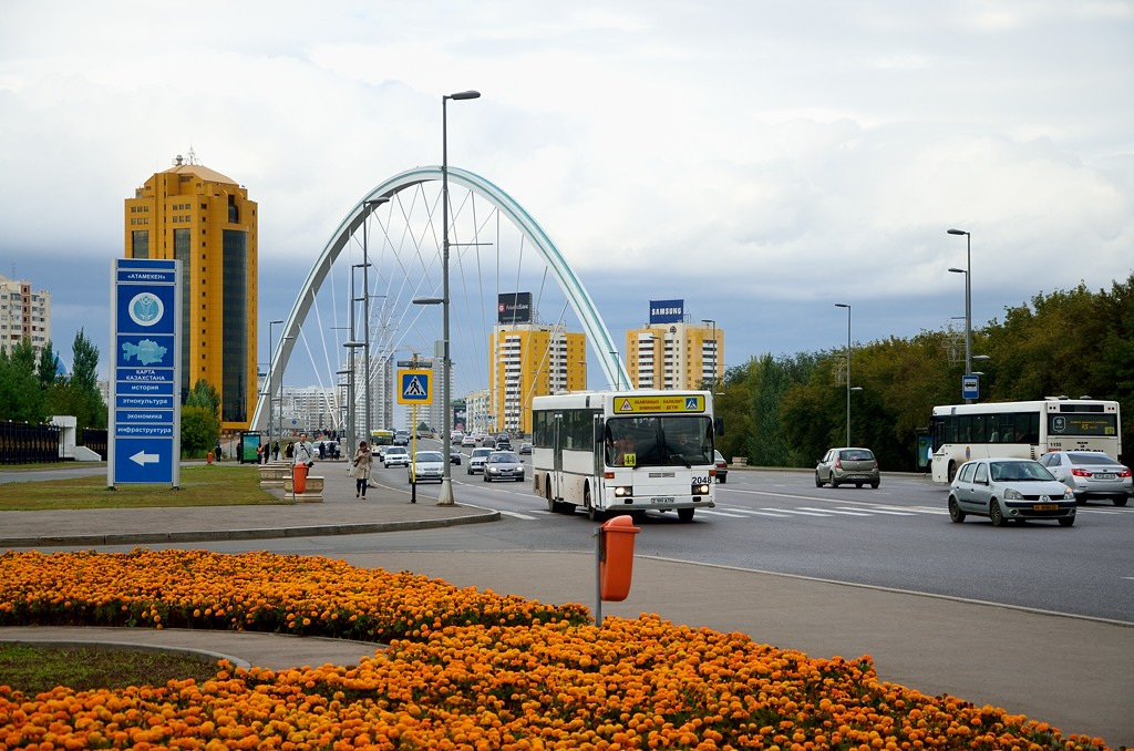 Впереди мост через Ишим