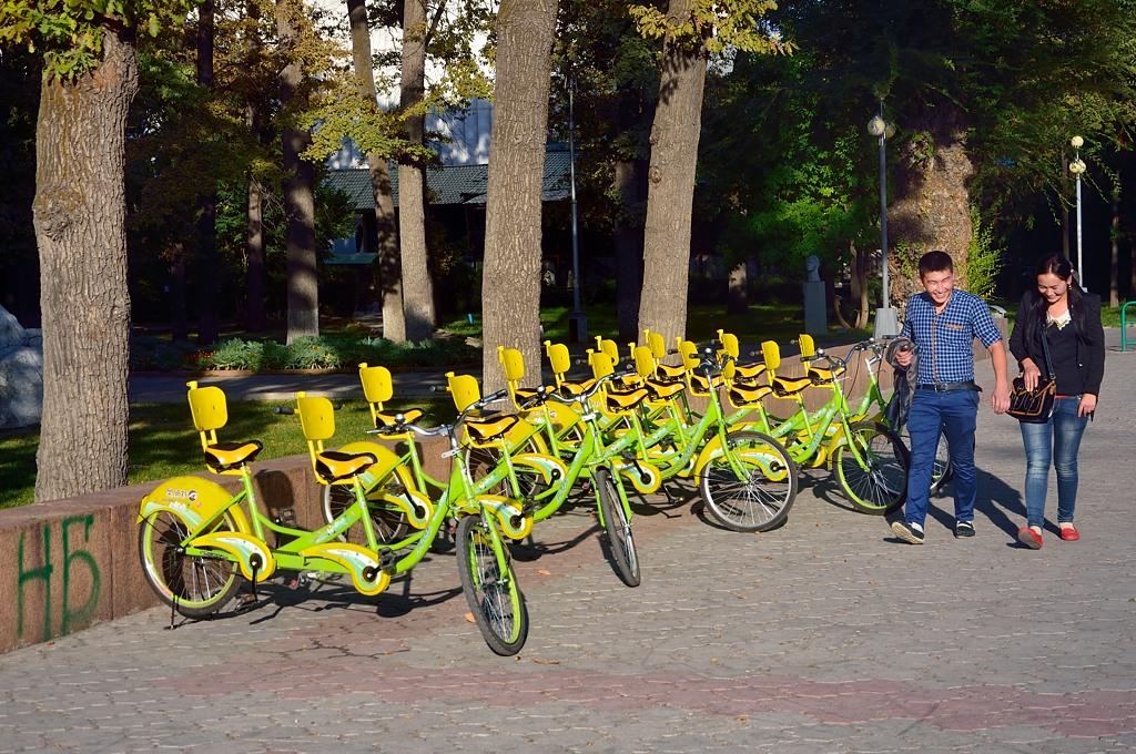Велосипеды напрокат. Прямо Европа