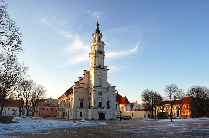 Каунасская ратуша, известная в народе как