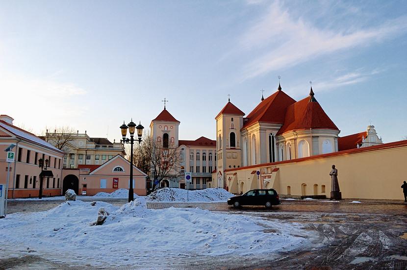 Каунасская духовная семинария и церковь Троицы