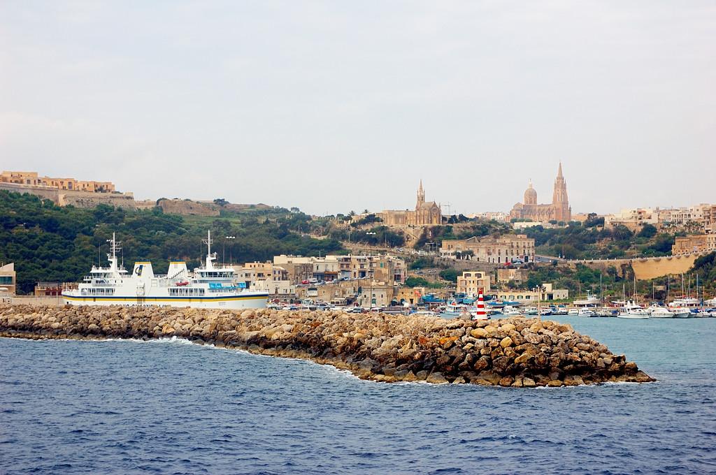 В порту Мжарр на юге Гозо