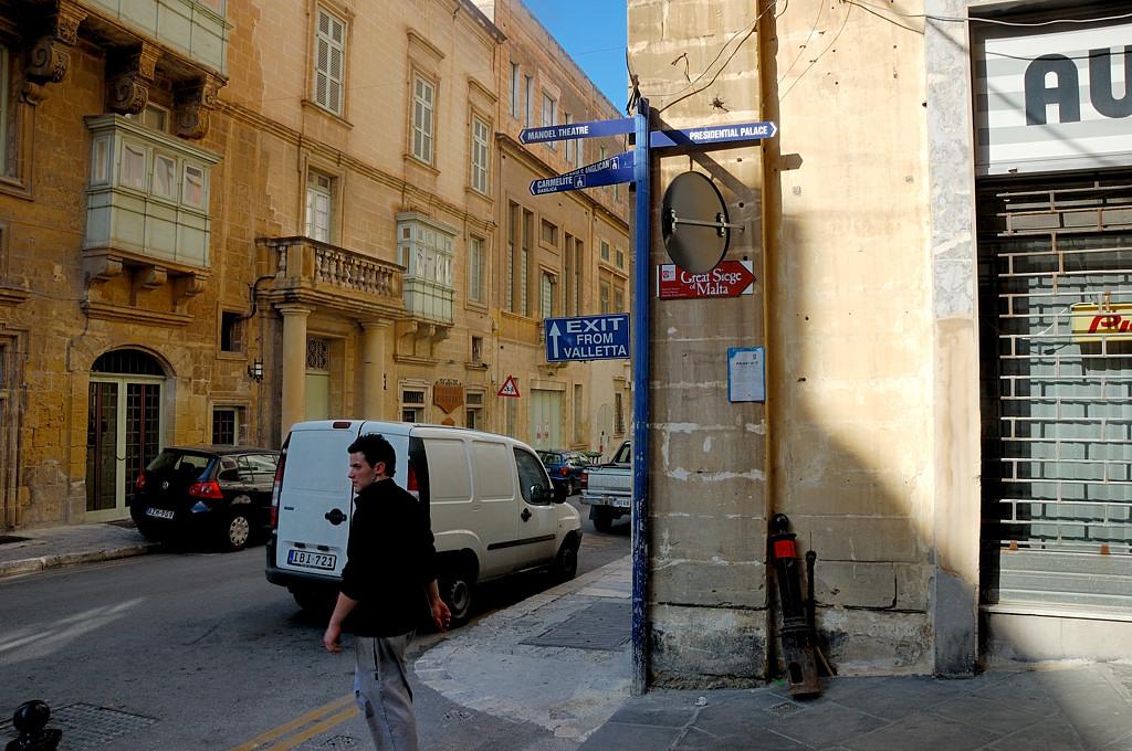 На улицах Валетты