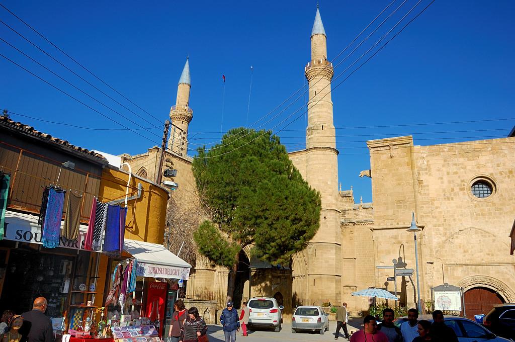 Центральная мечеть Никосии - мечеть Селимие