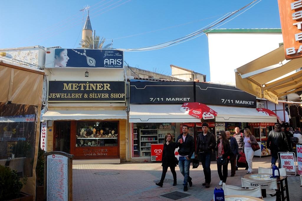 Торговая улица в центре турецкой Никосии
