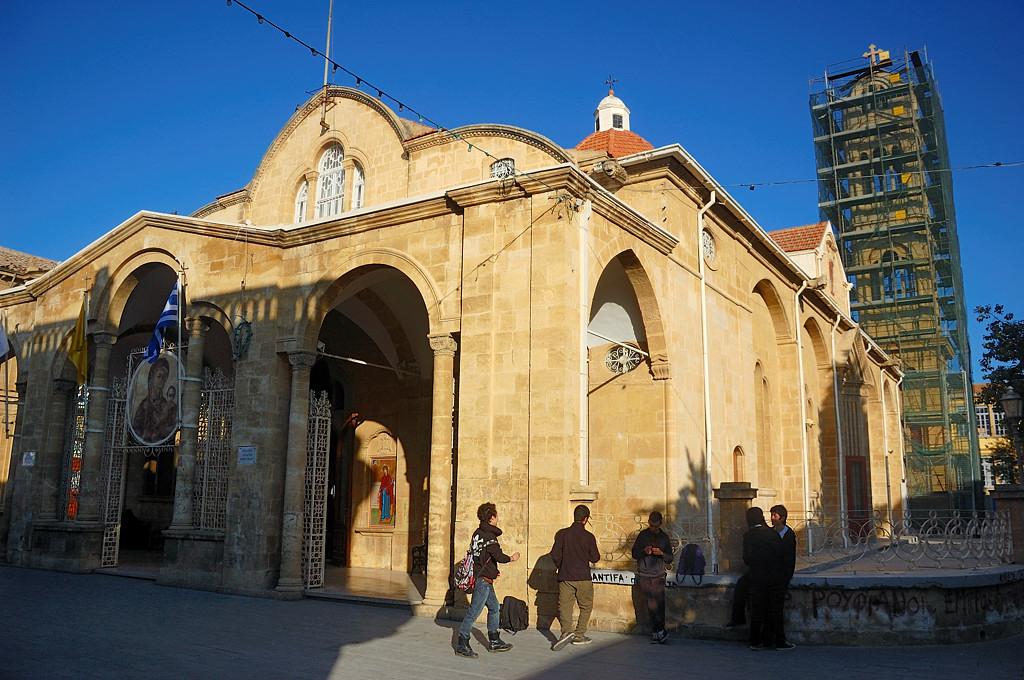 Собор Фанеромени, главная церковь Никосии