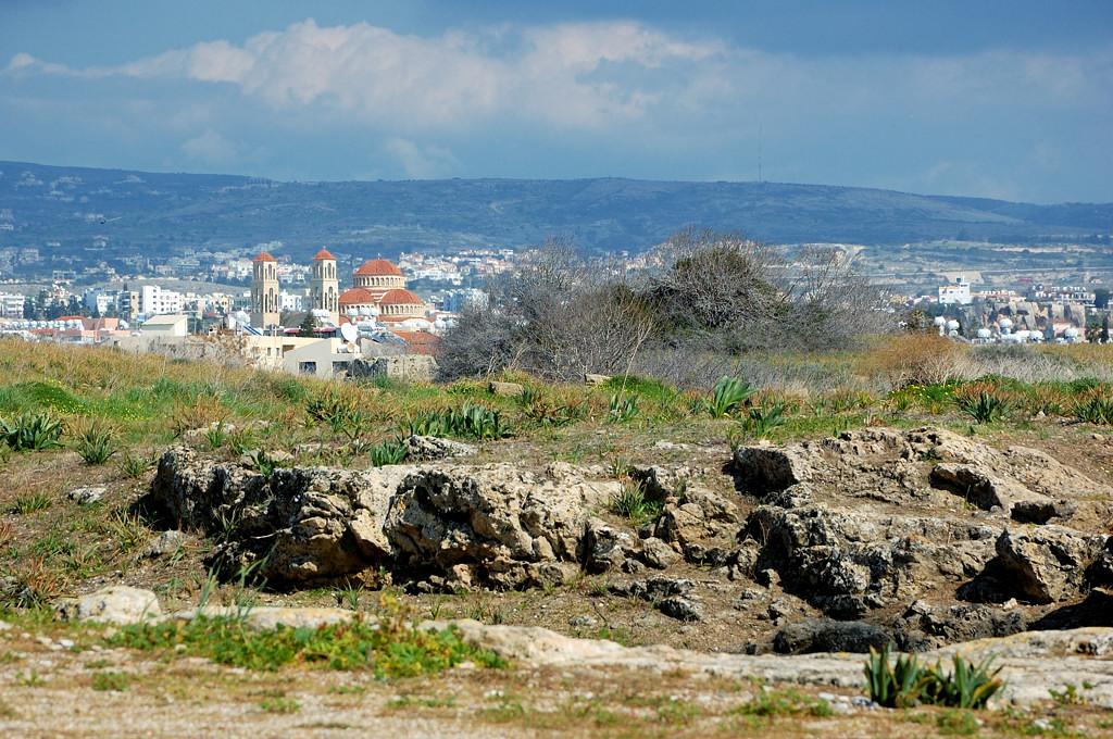 Вид с развалин на город