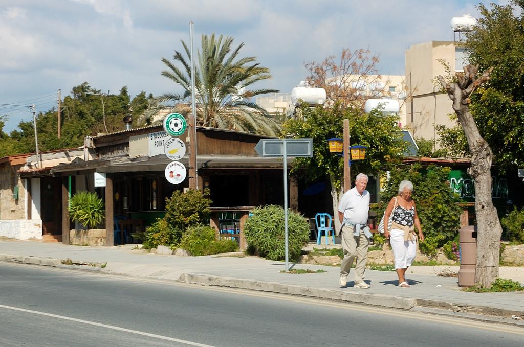 По дороге из Старого Пафоса в Новый