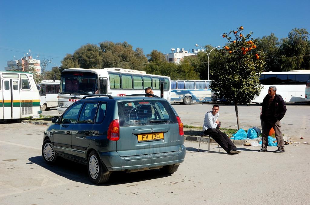 На автовокзале турецкой Никосии