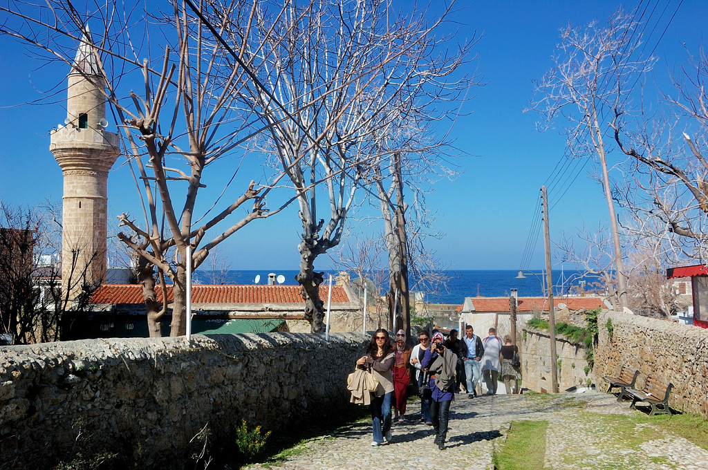 Кирения, дорога к морю